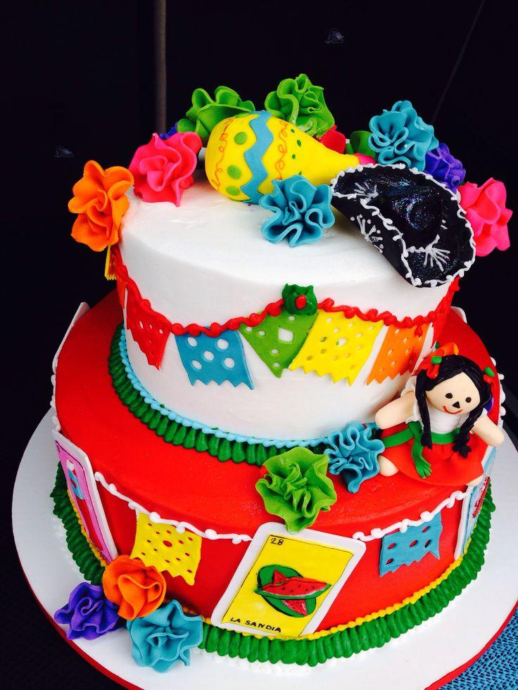 bolos decorados fiesta