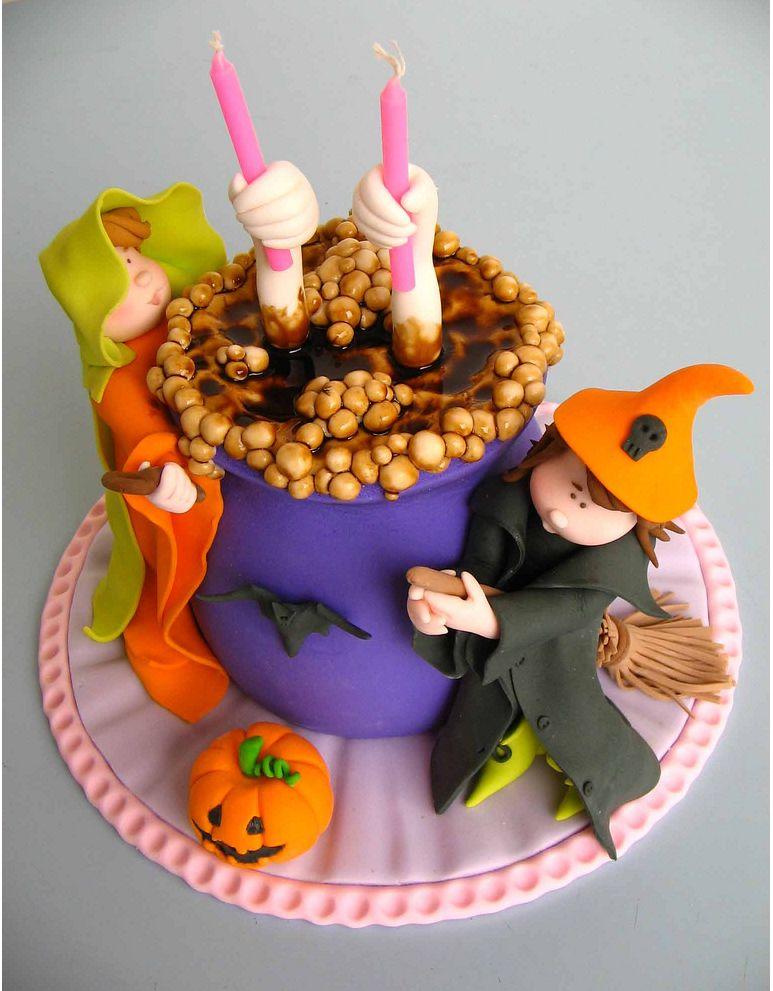 bolos decorados halloween