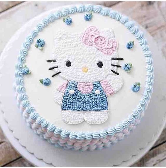 bolos decorados hello kitty 11