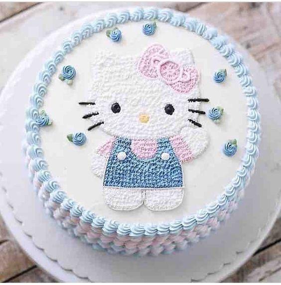 bolos decorados hello kitty 11