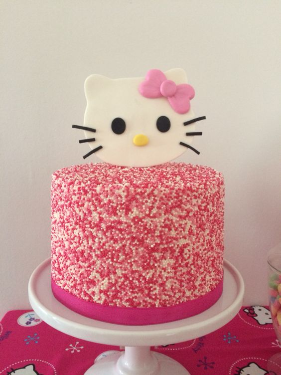 bolos decorados hello kitty 14
