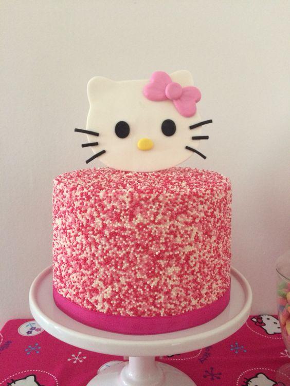 bolos decorados hello kitty 14