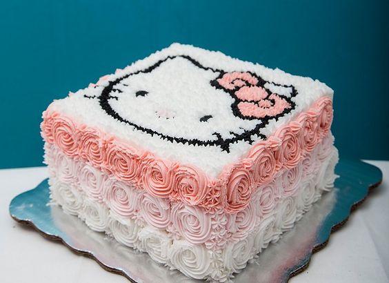 bolos decorados hello kitty 15