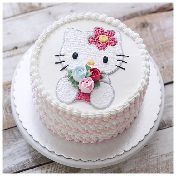 bolos decorados hello kitty 17