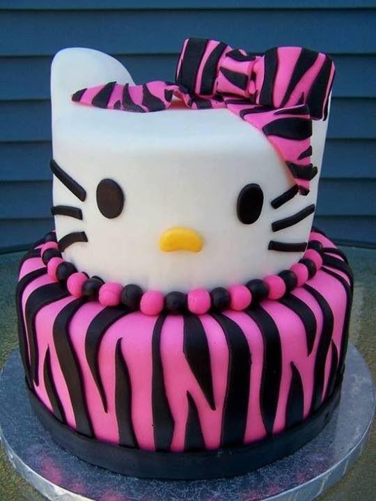 bolos decorados hello kitty 19