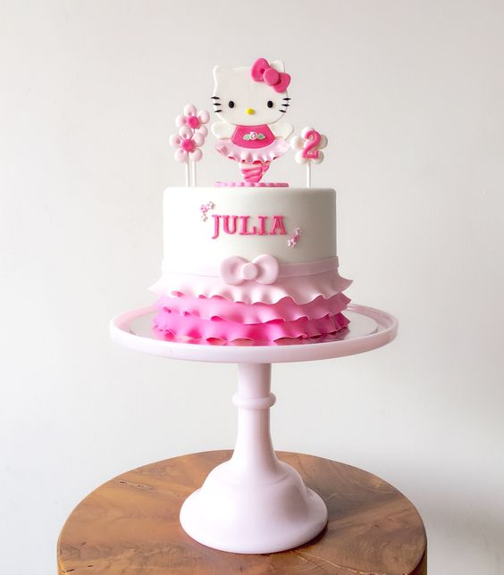 bolos decorados hello kitty 2