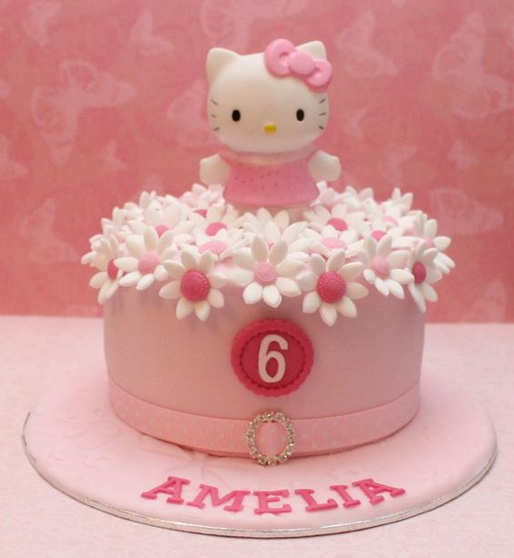 bolos decorados hello kitty 20