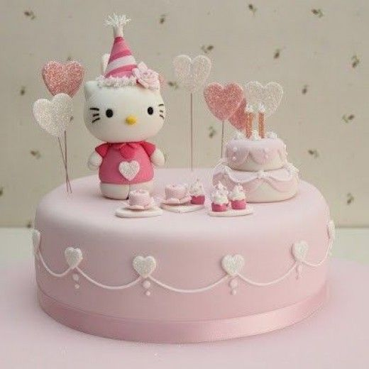 bolos decorados hello kitty 5