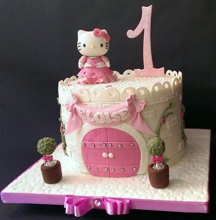 bolos decorados hello kitty 6