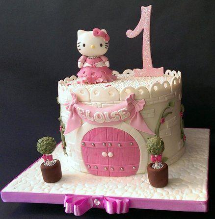 bolos decorados hello kitty 6