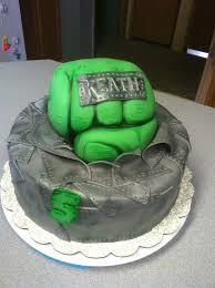 bolos decorados hulk