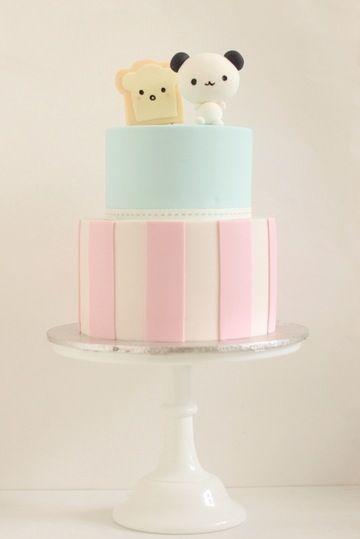 bolos decorados kawaii 1