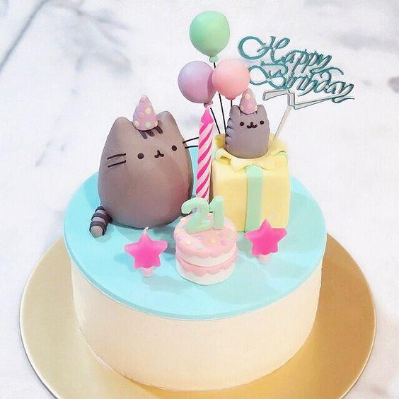 bolos decorados kawaii 3