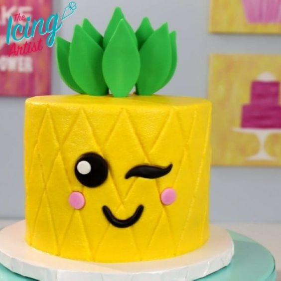 bolos decorados kawaii 7