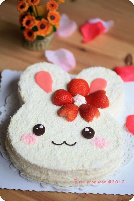 bolos decorados kawaii 8