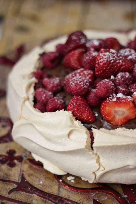 bolos decorados morangos 3