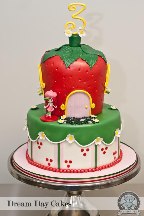 bolos decorados moranguinho 2