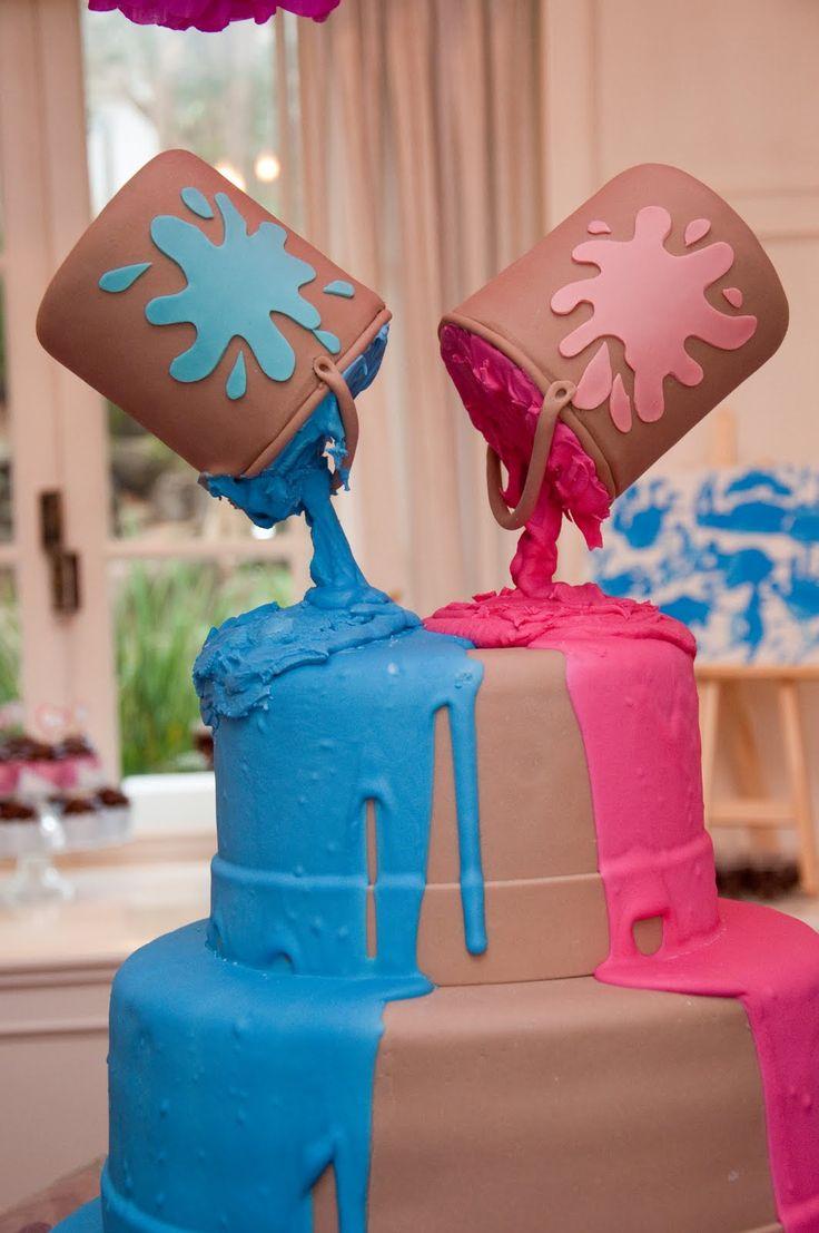 bolos decorados para gemeos