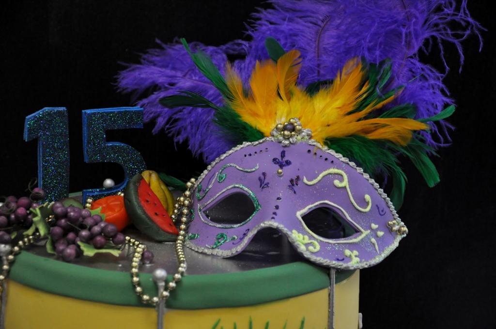 bolos decorados para o carnaval