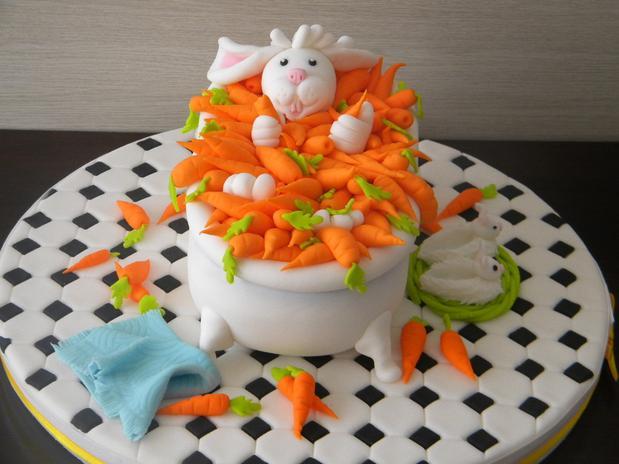 bolos decorados pascoa
