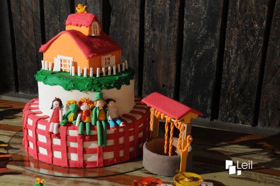 bolos decorados pica pau amarelo 4