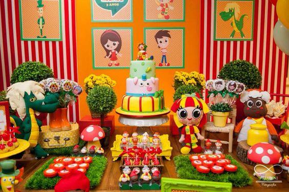 bolos decorados pica pau amarelo 9