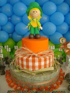 bolos decorados pica pau amarelo