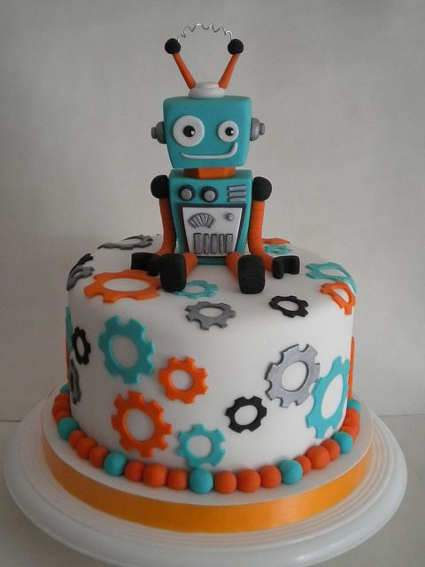 bolos decorados robos 2