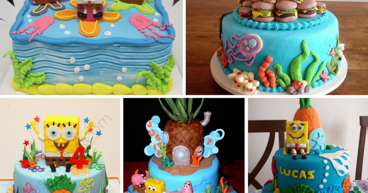 Bolos Decorados do SpongeBob