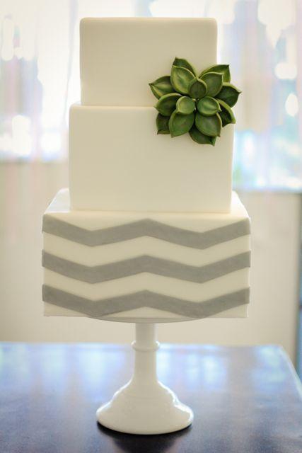 bolos decorados suculentas 10