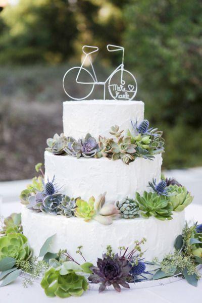bolos decorados suculentas 9