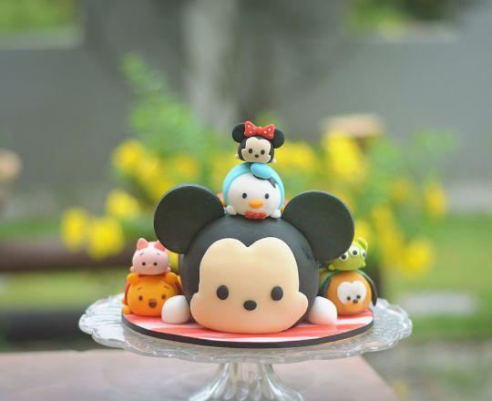 bolos decorados tsum tsum