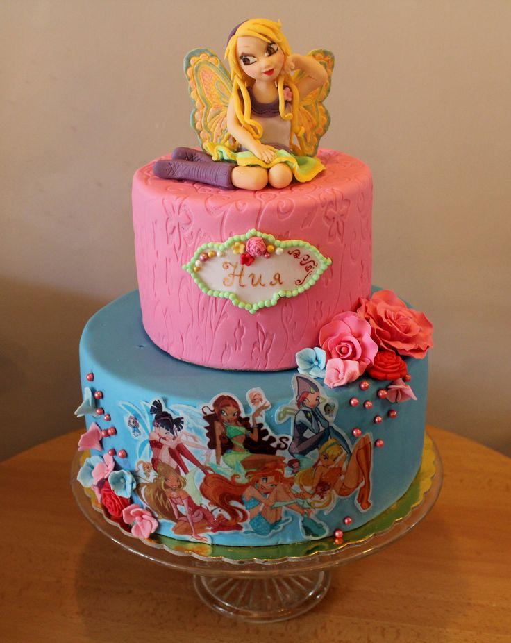 bolos decorados winx