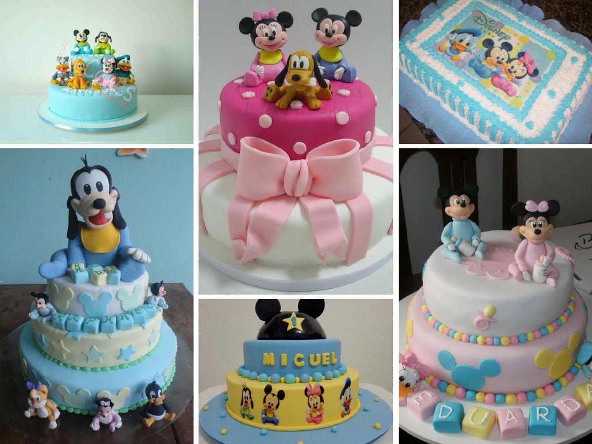 Bolos Decorados Disney Baby