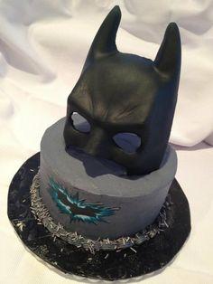 bolos do batman decorados