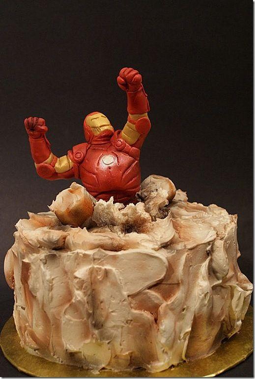 bolos homem de ferro