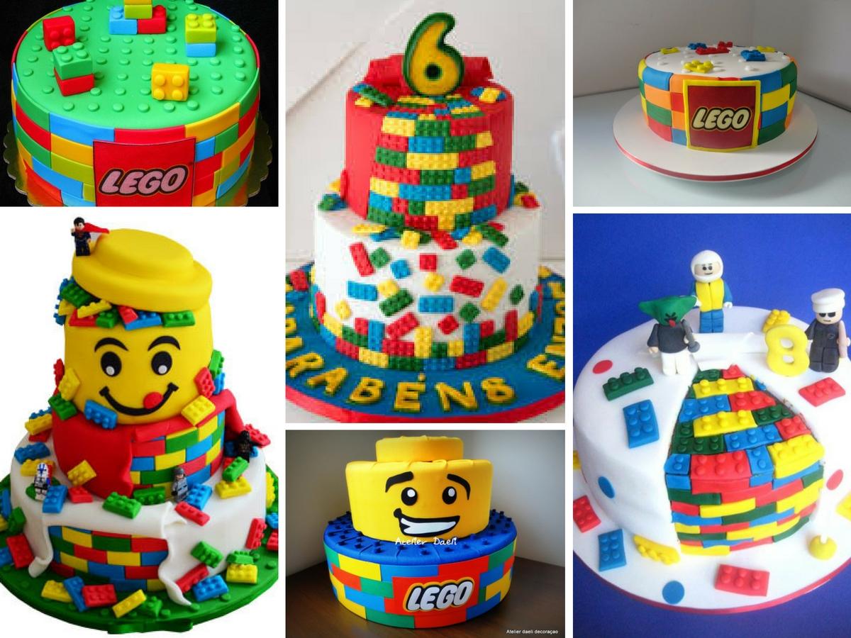 Bolos Decorados Lego