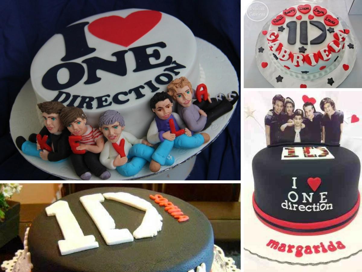 Bolos de Aniversário One Direction