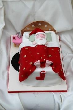 bolos pai natal diferentes