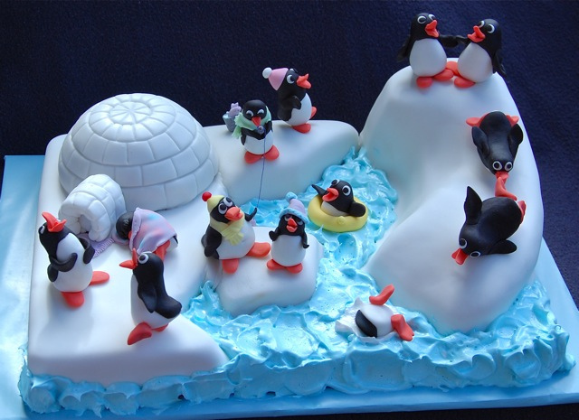 bolos pinguins