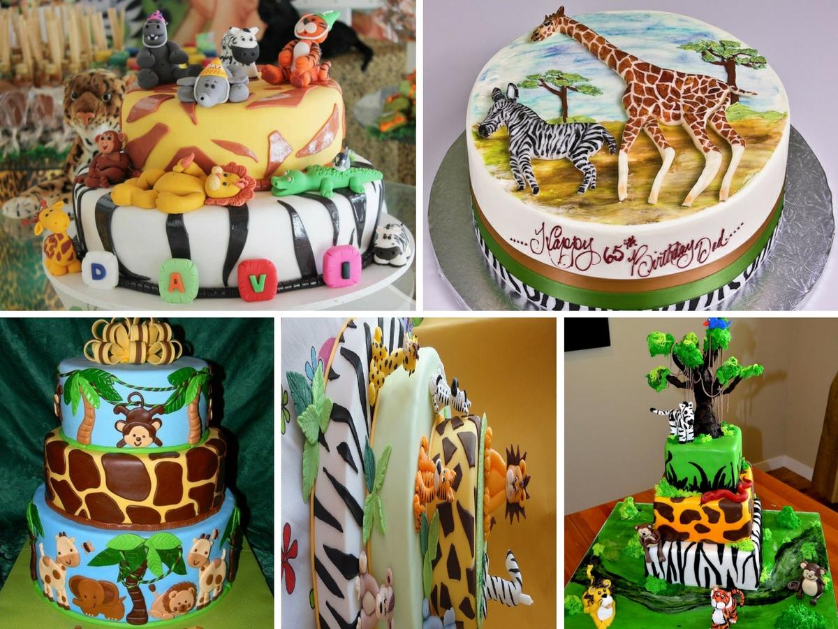 Bolos de Aniversário Safari