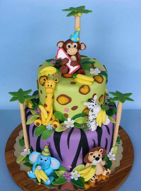 bolos selva animais