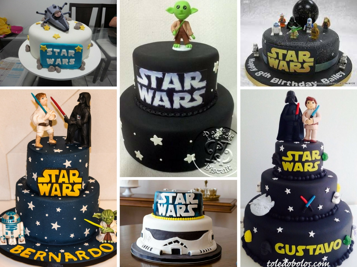 Bolos Decorados Star Wars