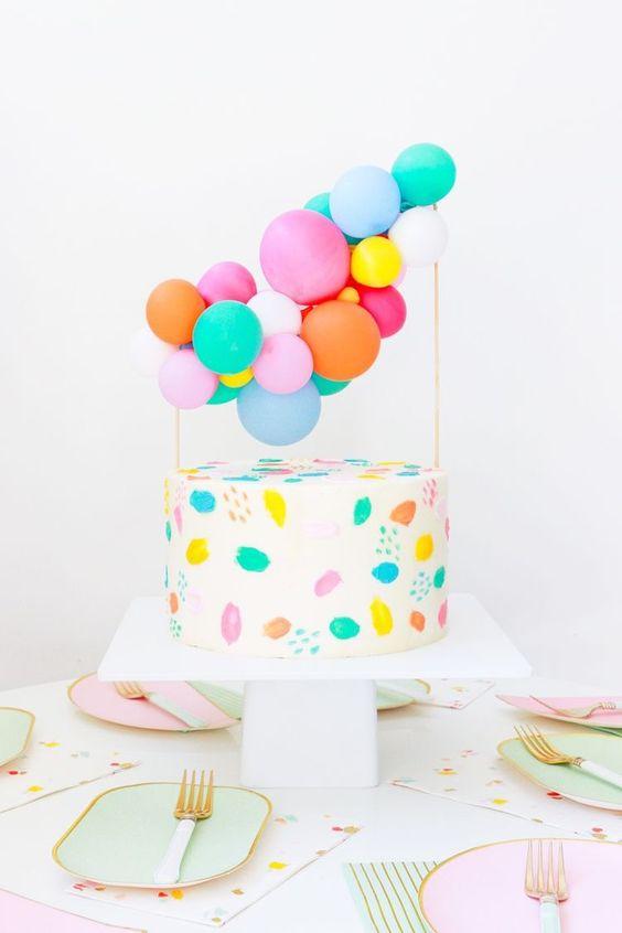 bolos topo mini baloes 4