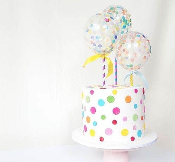 bolos topo mini baloes 5