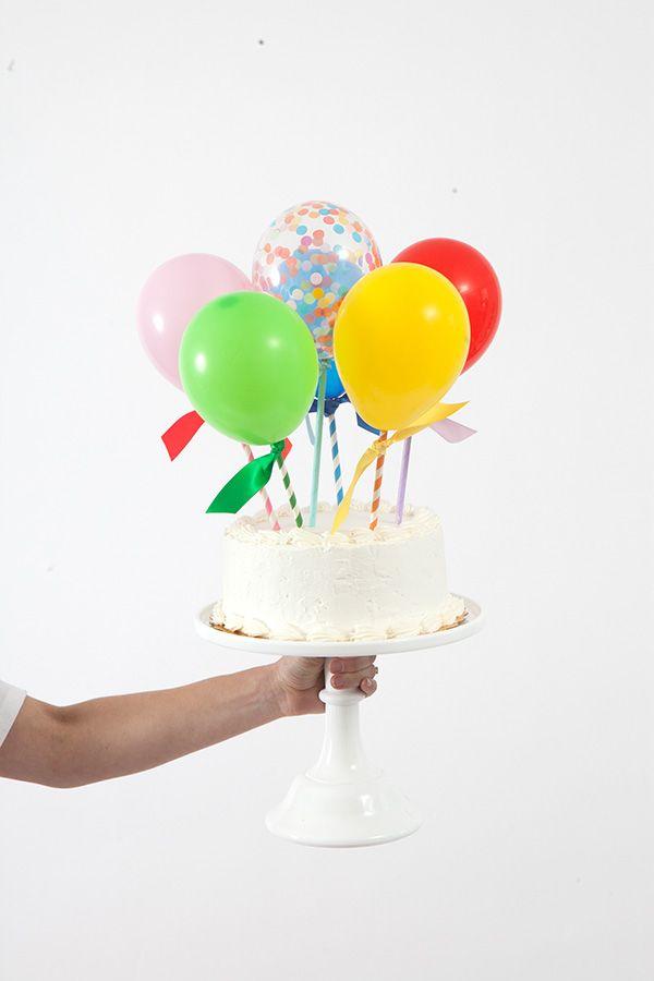 bolos topo mini baloes