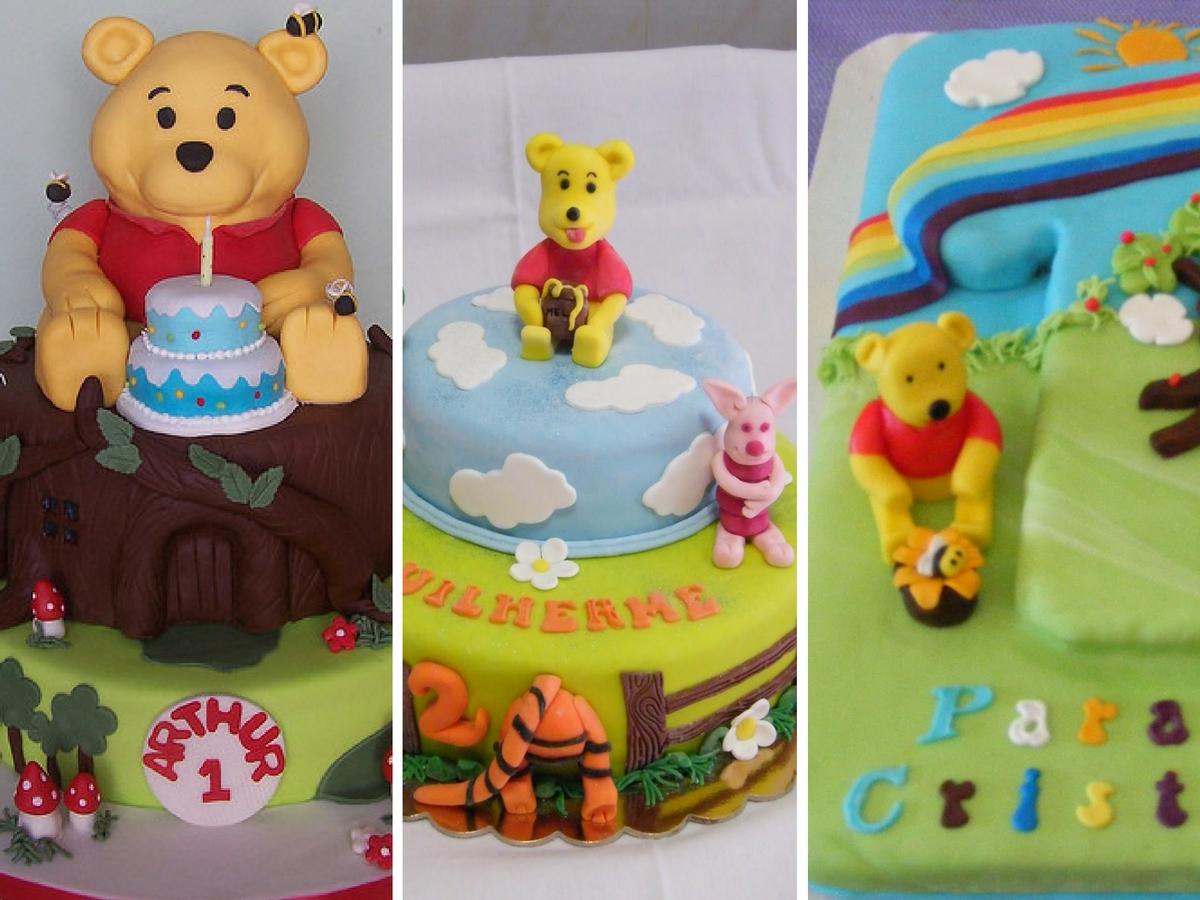 Bolo aniversário Winnie the Pooh