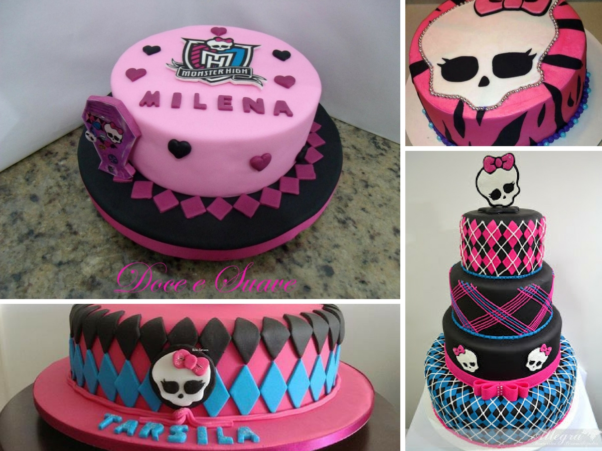 Bolos Decorados Monster High