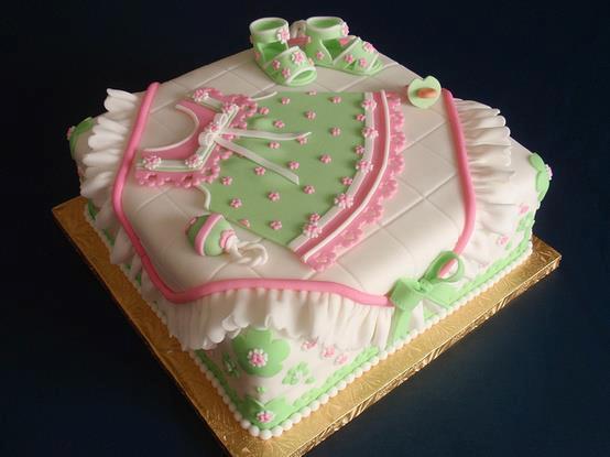 cha de bebe bolo decorado