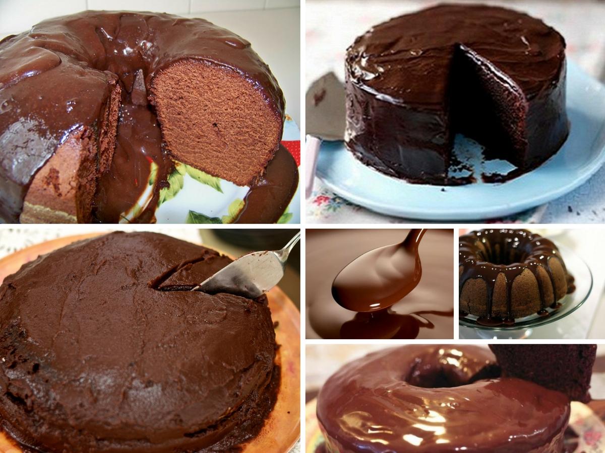 Cobertura para Bolos de Chocolate